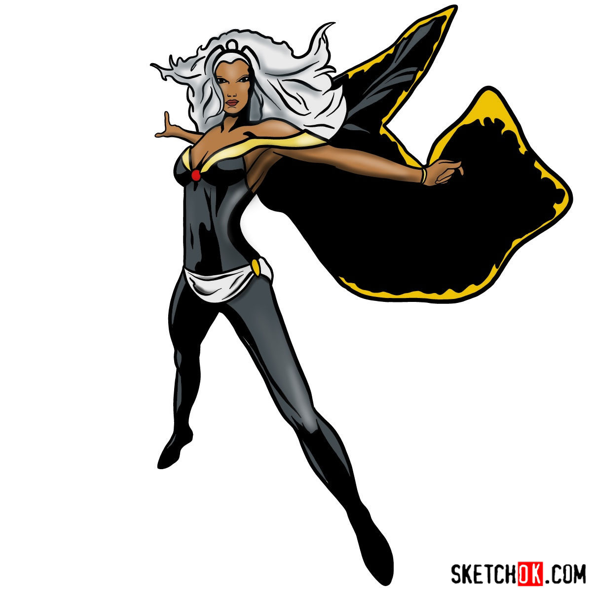 1200x1200 How To Draw Storm From X Men