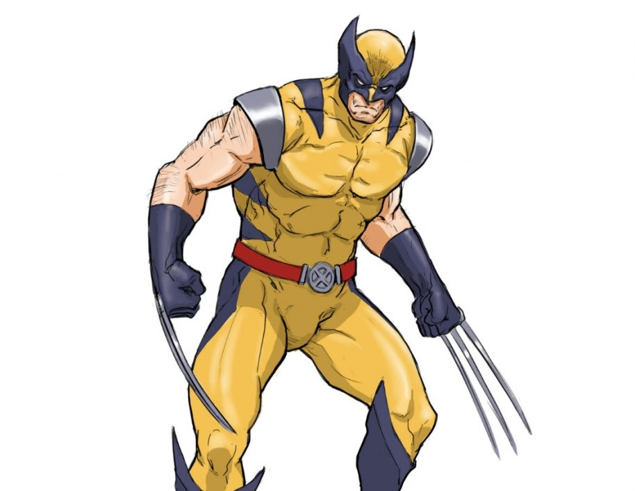 914x706 Learn To Draw Wolverine From X Men In Easy Steps