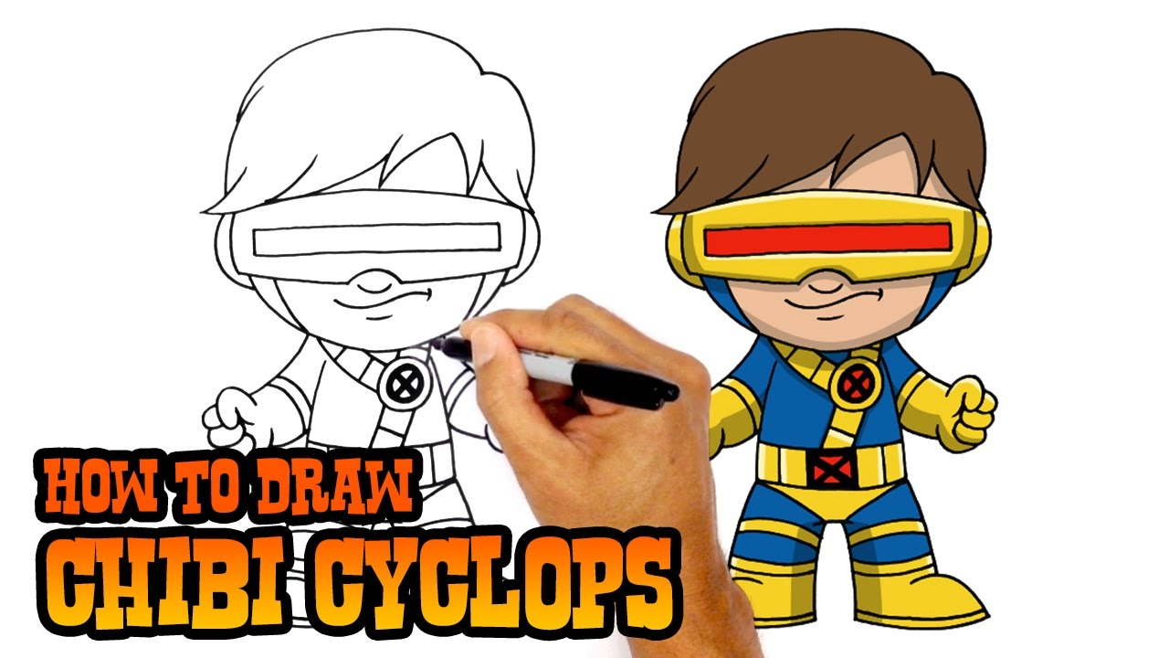 1280x720 How To Draw Cyclops X Men