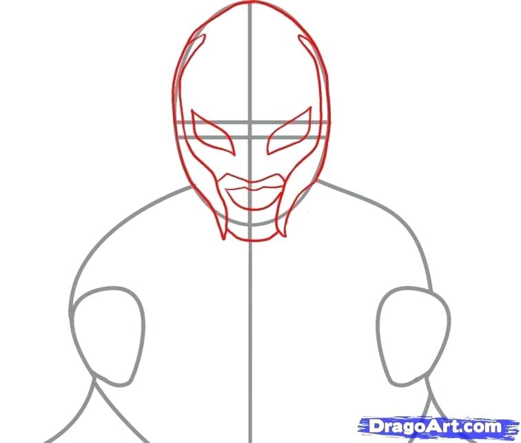 756x643 How To Draw Wwe Rey Mysterio Mask Best Images About Stock Vector