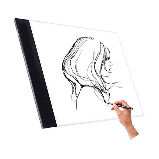 522x522 Nopteg Tracing Light Box, Led Drawing Light Pad Ultra Thin Art