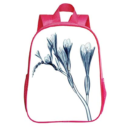 425x425 Multiple Picture Printing Trumpet Red Backpack, Xray