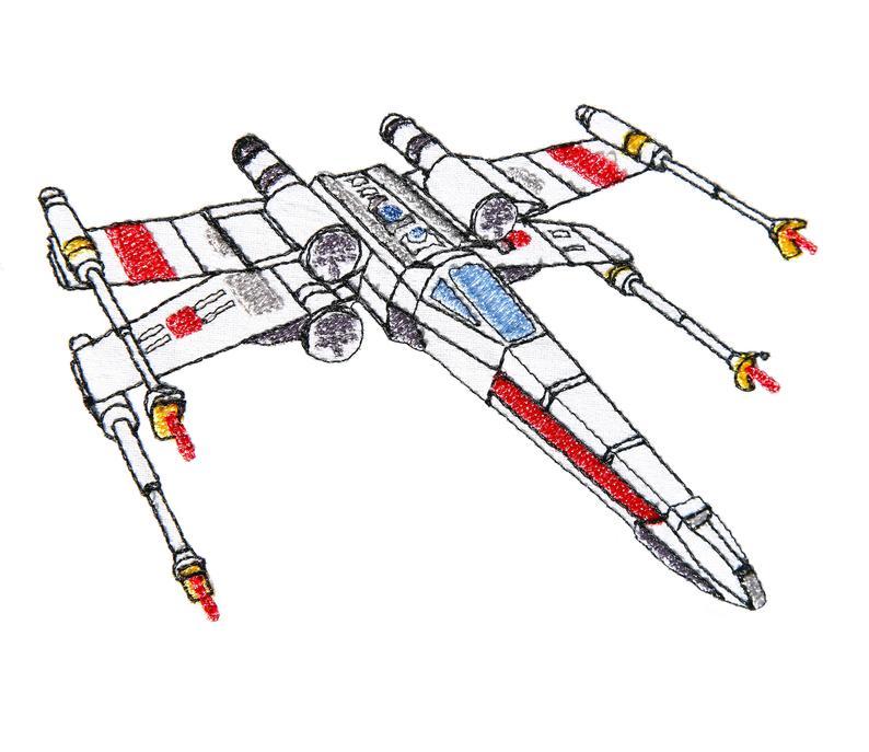 794x687 New Star Wars X Wing Luke Skywalker Pattern Instant Etsy