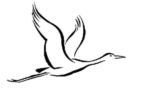 630x401 Sandhill Crane Clipart Drawing