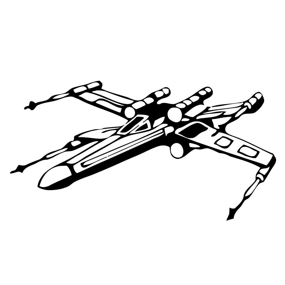 1080x1080 Xwing Wall Decal Vinyl Sticker Decals Star Wars X Wing