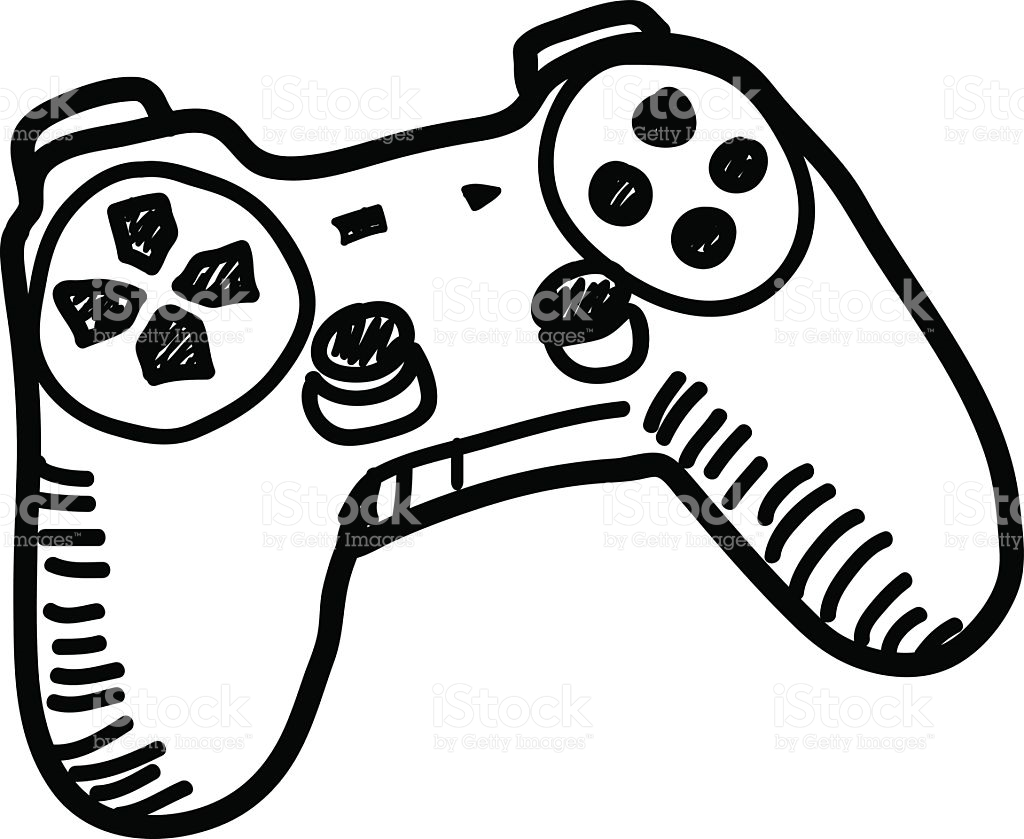 Xbox Controller Drawing