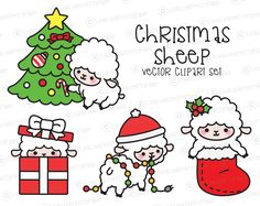 236x187 amazing xmas art images xmas, drawings, kawaii drawings