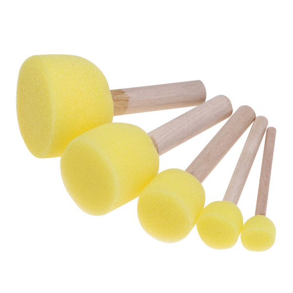 600x600 sponge paint brushes toys wooden handle seal sponge brushes