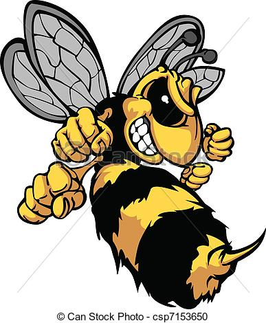 387x470 bee hornet cartoon vector image cartoon vector image of a yellow