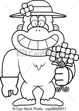 335x470 Cartoon Yeti Spring A Cartoon Illustration Of A Yeti Vector