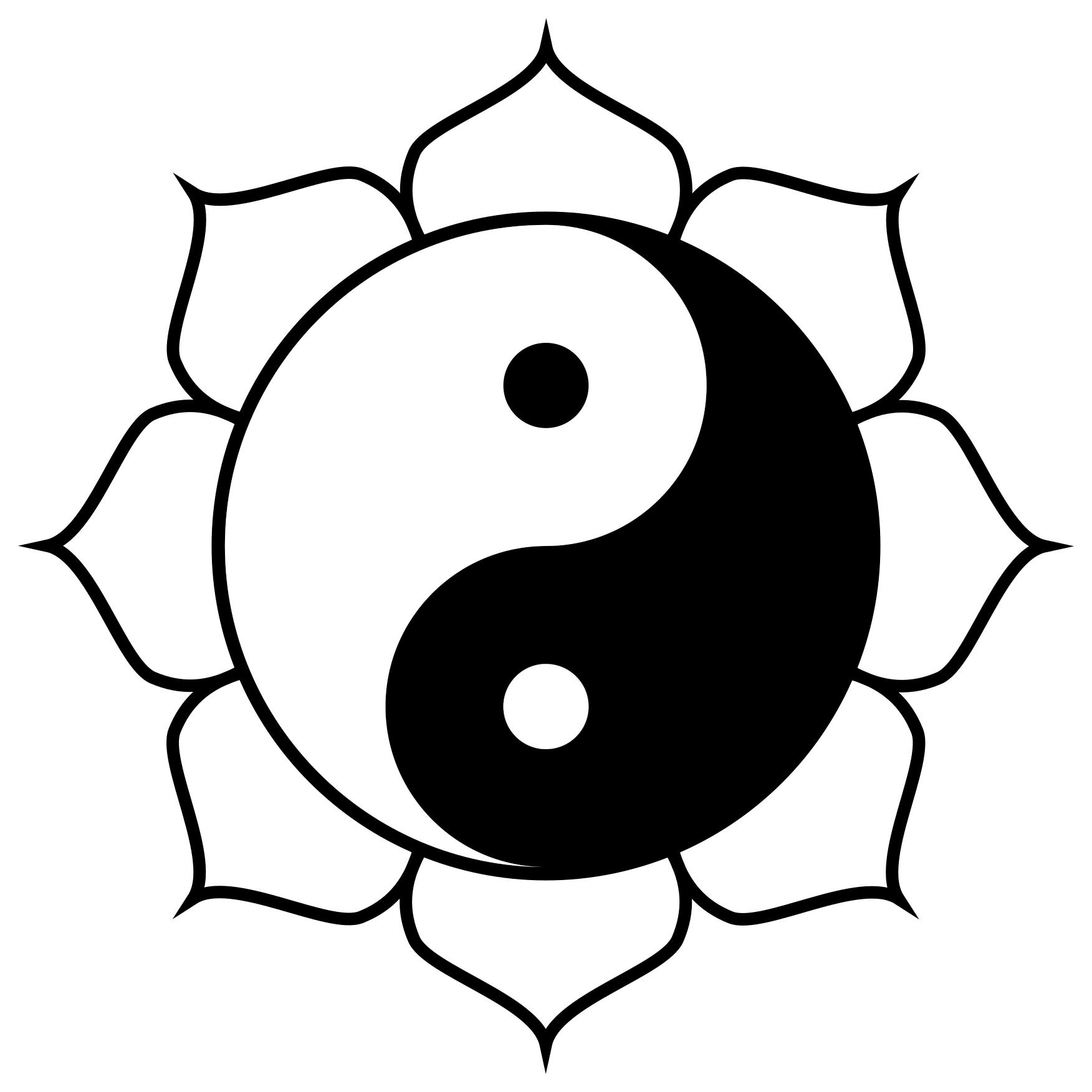 yin yang drawing designs  free download on clipartmag