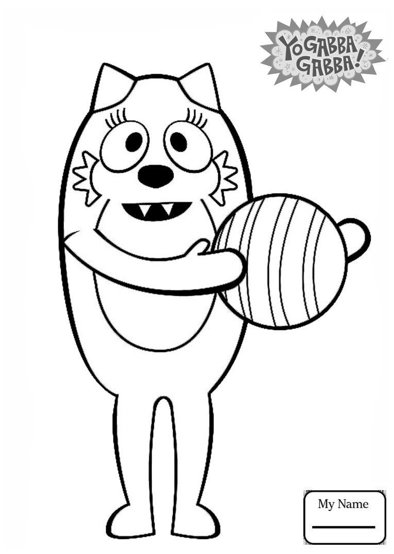 Yo Gabba Gabba Drawing | Free download best Yo Gabba Gabba ...