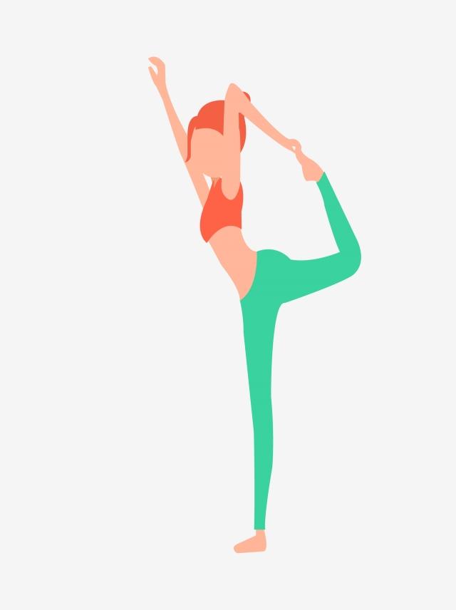640x856 girl doing yoga hand drawing, girl doing yoga, yoga, motion png