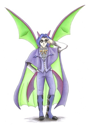 320x446 This Is My Shiny Crobat Gijinka Leucer