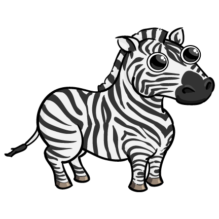 432x432 funny zebra drawing art zebra drawing, zebra clipart, art