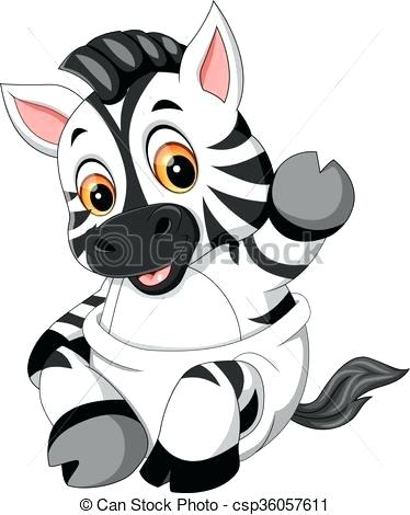 374x470 baby zebra drawing how to draw a zebra for kids cute baby zebra