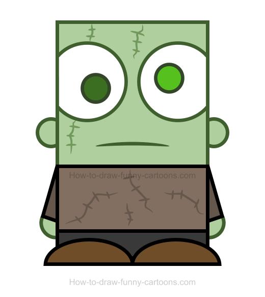 520x583 Zombie Clipart