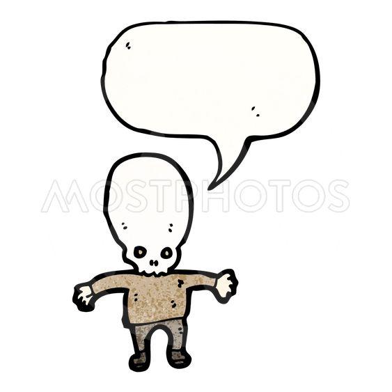 563x563 Scary Zombie Cartoon