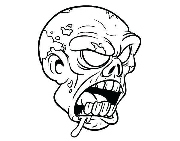 600x470 easy zombie drawings how to draw cartoon zombie zombie drawings