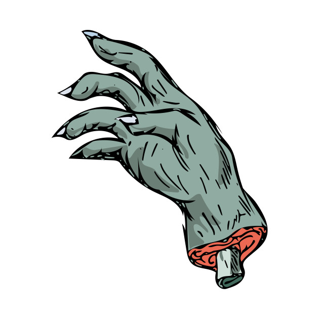 630x630 Zombie Monster Hand Drawing