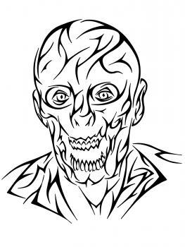 263x350 How To Draw A Tribal Zombie, Tribal Zombie Tattoo, Step