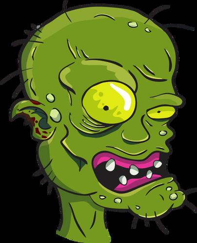 404x500 Zombie's Head