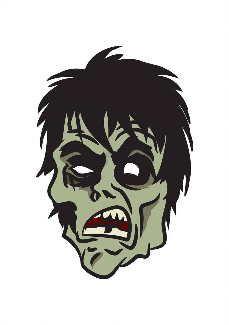 751x1064 Zombie Face