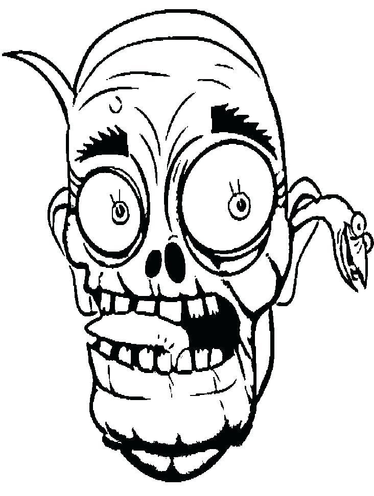 732x972 How To Draw Frankenstein Face Running