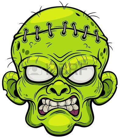 394x450 Cartoon Zombie Head Tattoos In Zombie Cartoon, Zombie