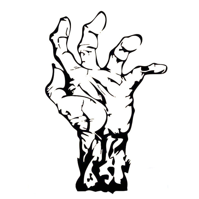 640x640 Hand Drawing Zombie For Free Download