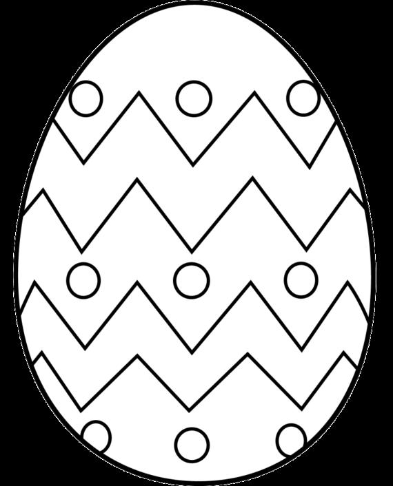 570x706 Free Egg Free Clip Art Of Egg Clipart Black And White 0 Easter