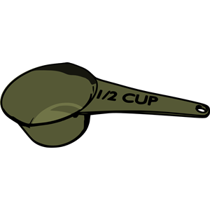 300x300 Measuring Cup Clipart, Cliparts Of Measuring Cup Free Download