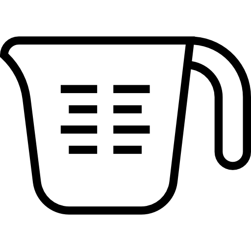 Kitchen Center Clipart: 1 Cup Measuring Cup Clipart
