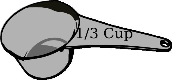 600x280 13 Cup Measuring Cup Clip Art