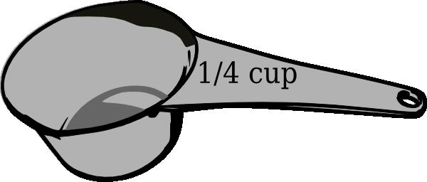 600x256 14 Cup Measuring Cup Clip Art