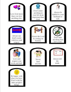 247x320 Best Ten Commandments Craft Ideas 10