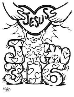 236x309 Easter Coloring Picture John 316 Easter Easter