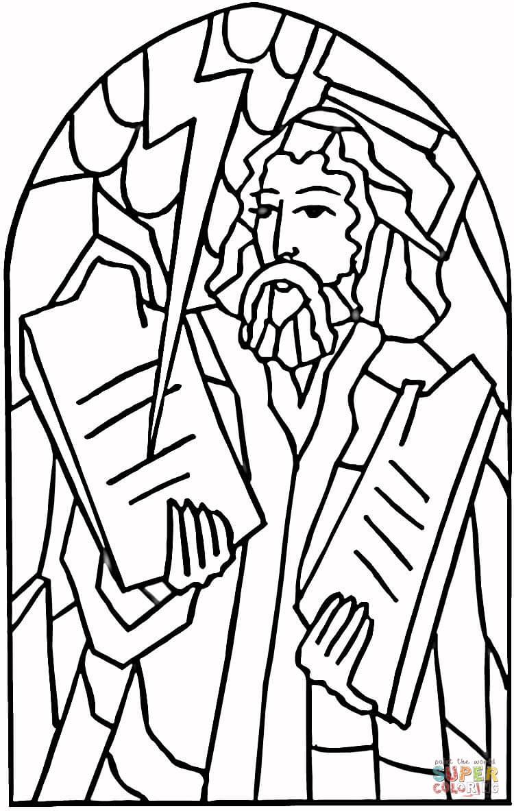 750x1183 God Commandments Coloring Page Free Printable Coloring Pages