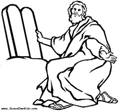 240x223 Moses And The Exodus Coloring Pages