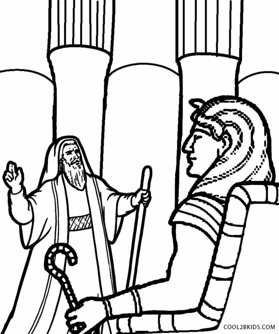 543x650 Printable Moses Coloring Pages For Kids Cool2bkids Fairy Tale
