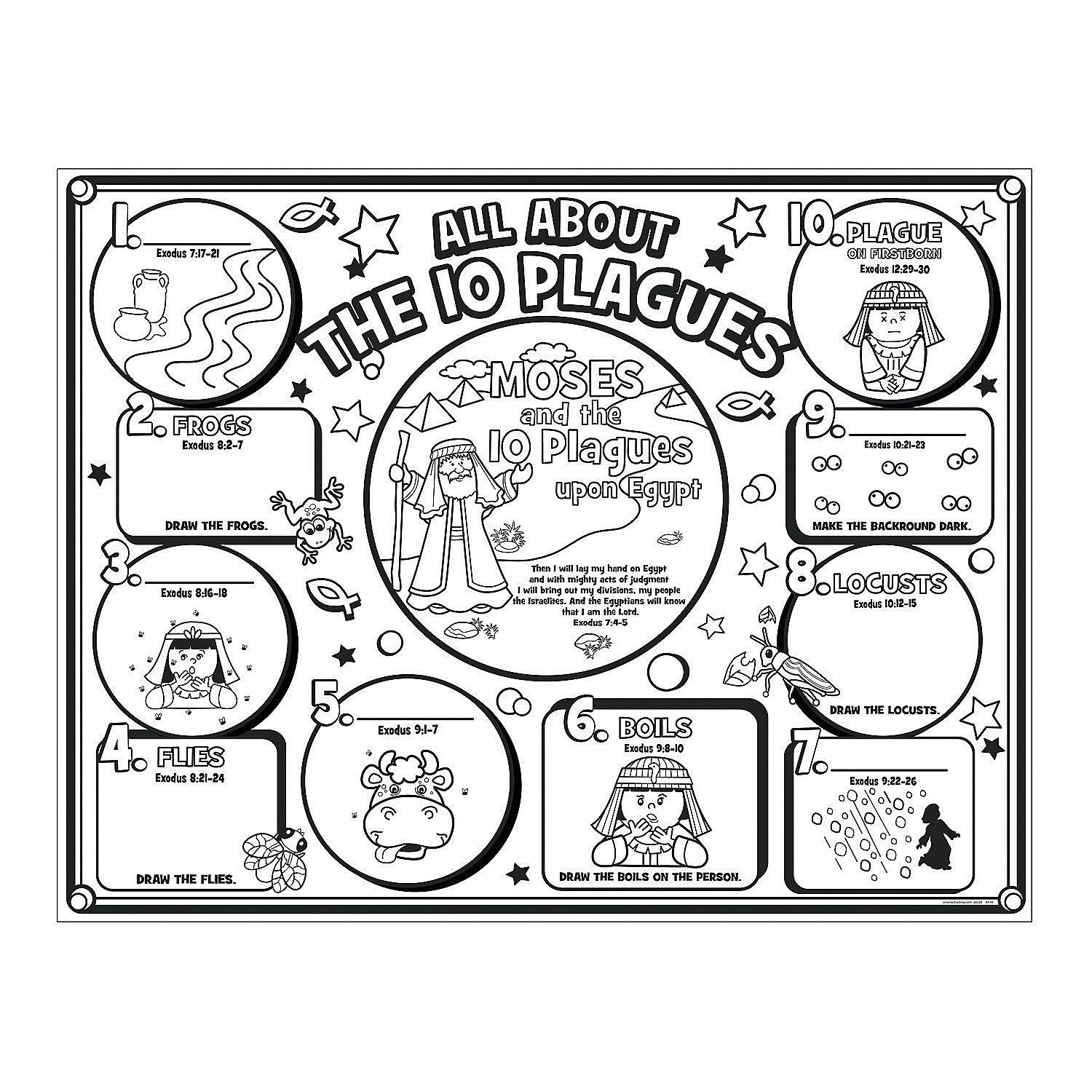 10 Commandments Coloring Pages | Free download on ClipArtMag