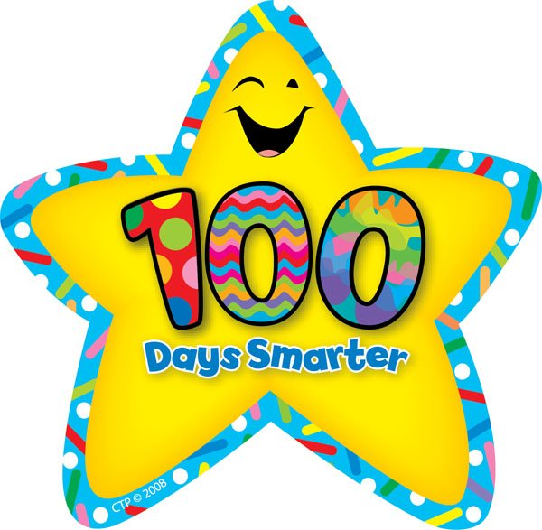 600x587 100th Day Of School Clip Art Clipart