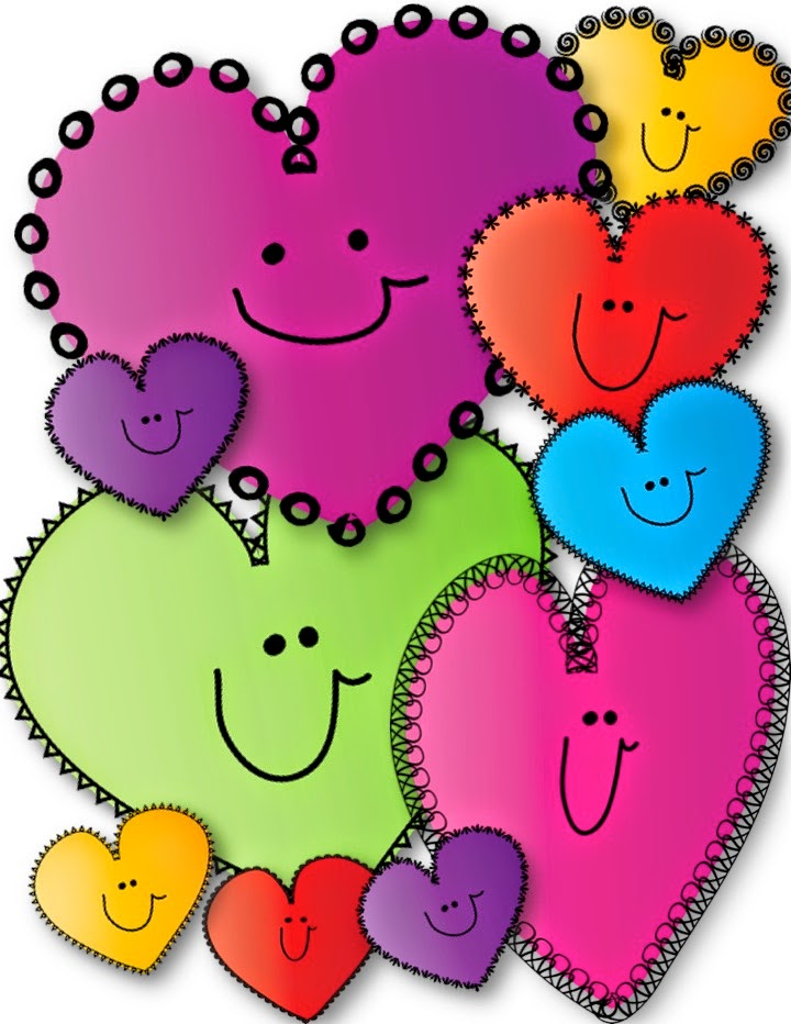 720x932 Free Happy Hearts Clip Art! Teacher Karma