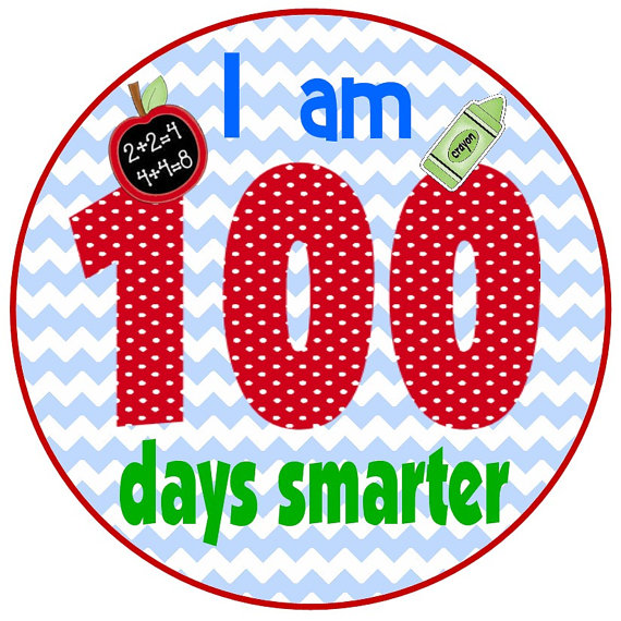 570x570 100 Days Of School Clipart