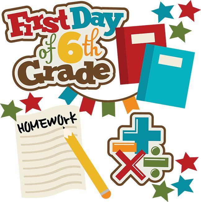 648x651 First Day Of Kindergarten School Clip Art