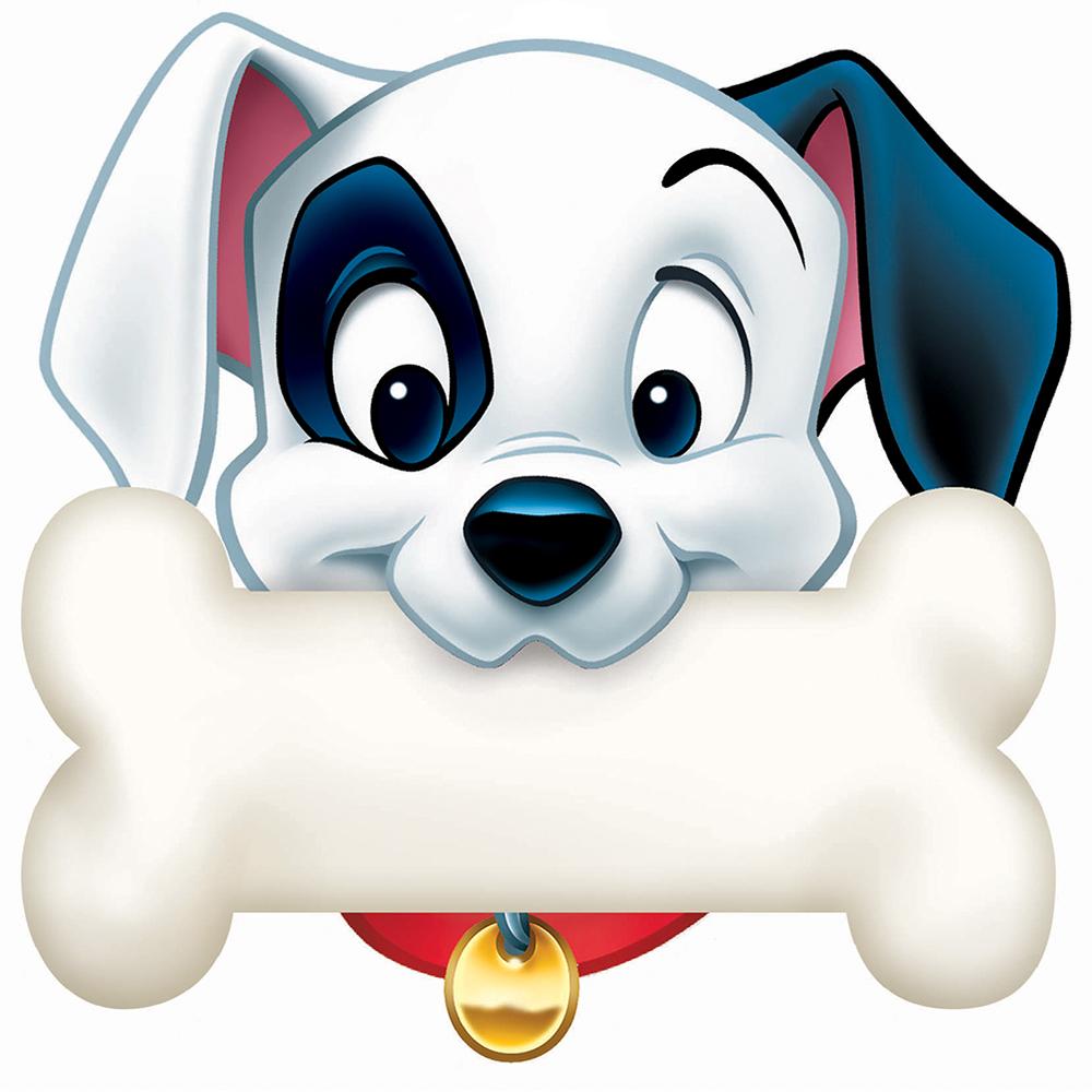 1000x1000 101 Dalmatians Dog Bone Paper Kids Cut Outs Eureka School 101