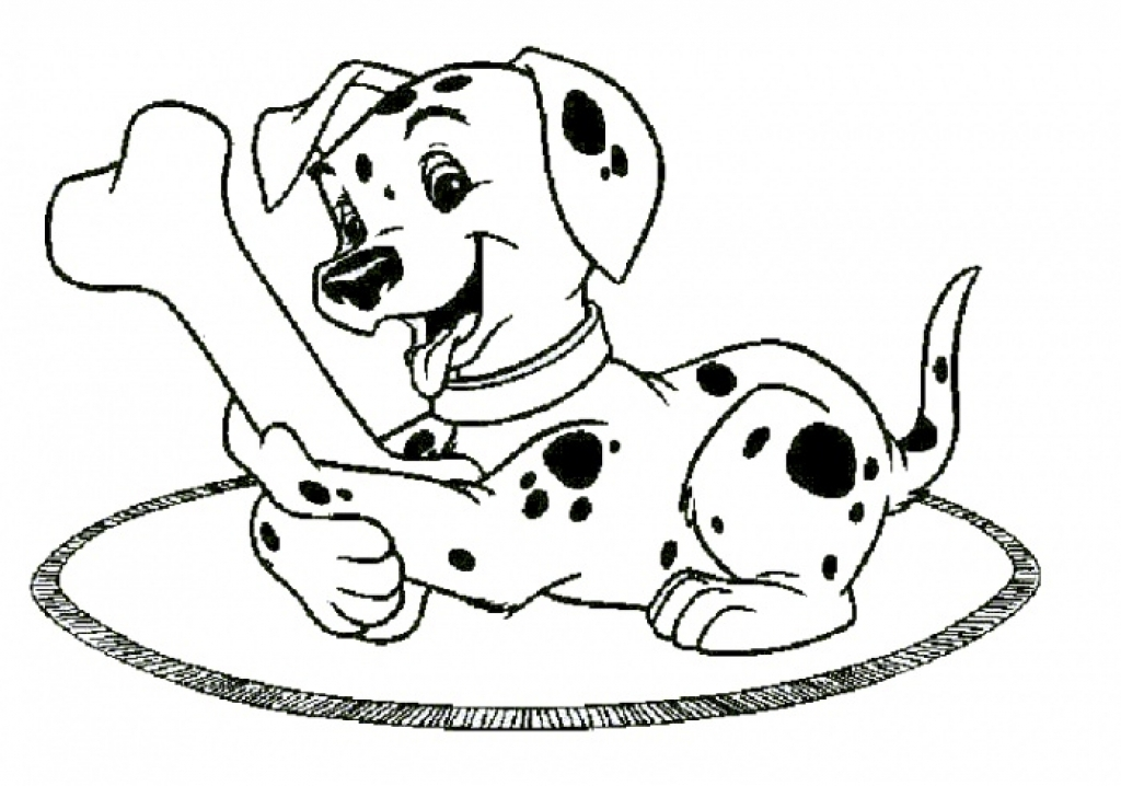 1024x718 101 Dalmatians Coloring Pages Pertaining To Really Encourage