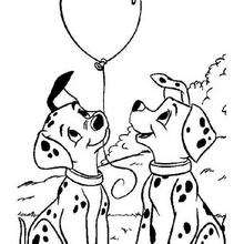 220x220 101 Dalmatians Coloring Pages