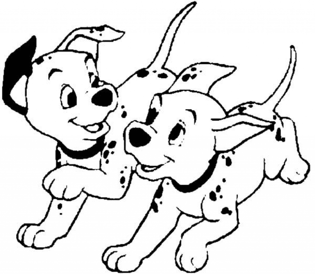 1024x890 Amazing Decoration 101 Dalmatians Coloring Pages Pertaining