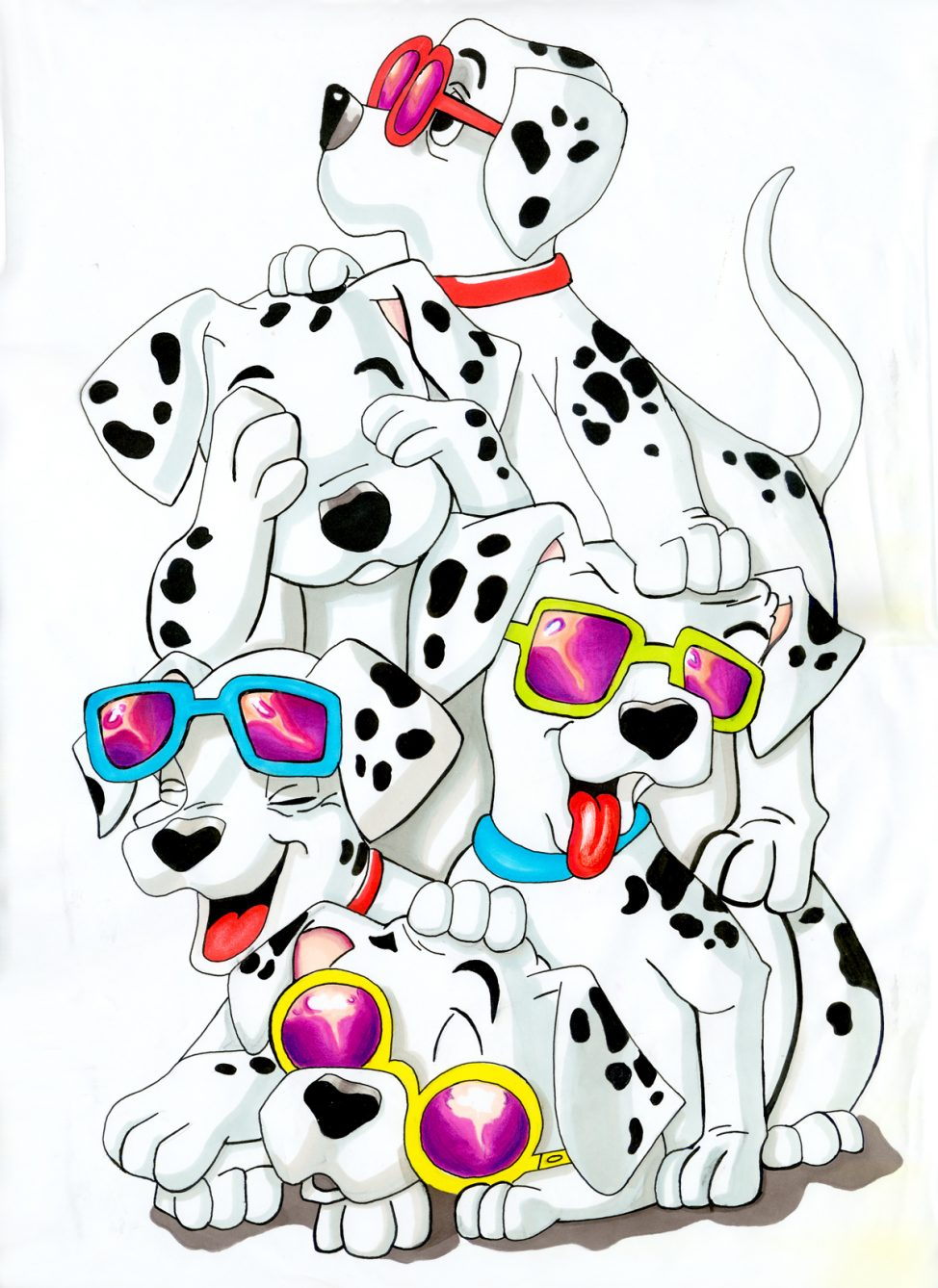 101 Dalmatians Coloring Pages | Free download best 101 Dalmatians ...